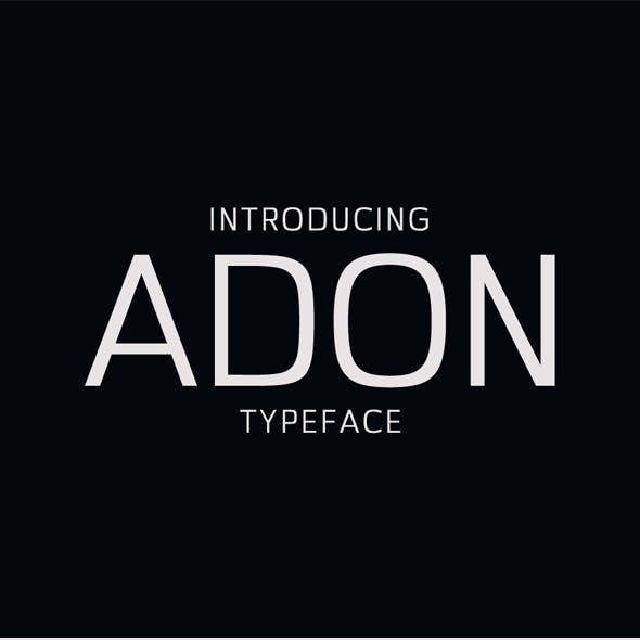Adon Sans Serif Typeface