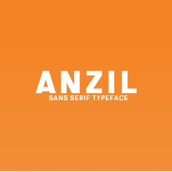 Anzil Sans Serif Font Family