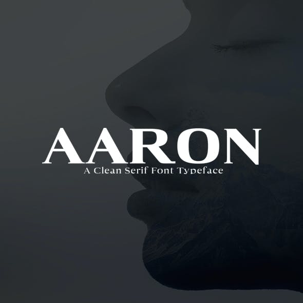 Aaron Serif Font Family