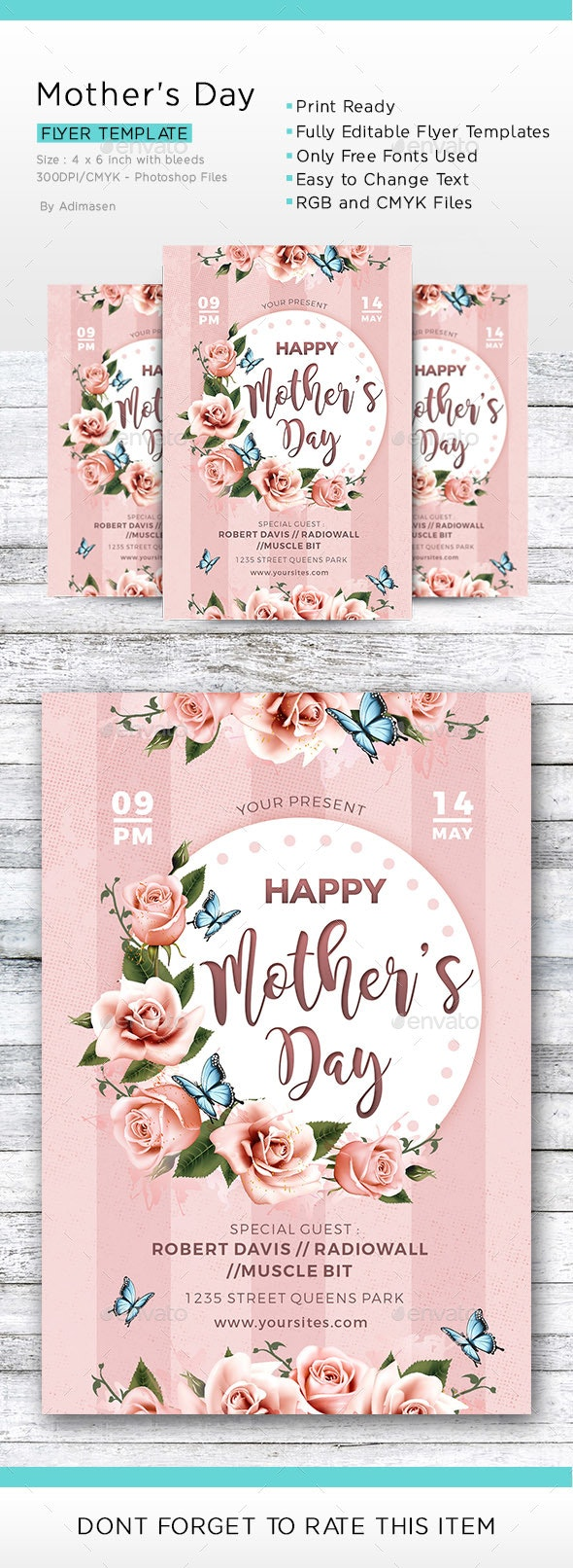 Mothers Day - Events Flyers