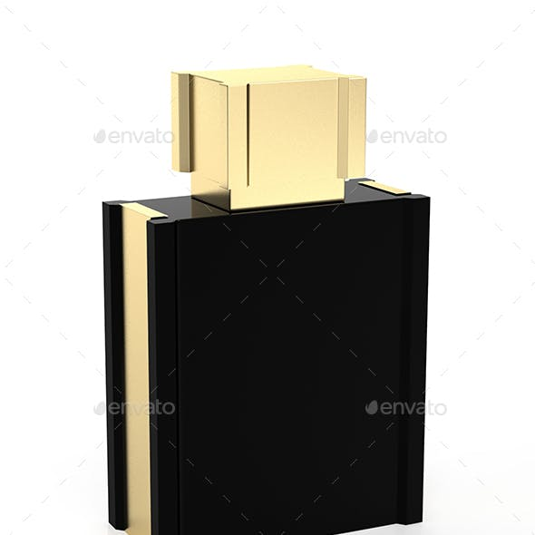 Black Perfume Bottle