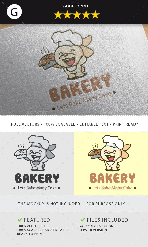 Bakery Logo - Animals Logo Templates
