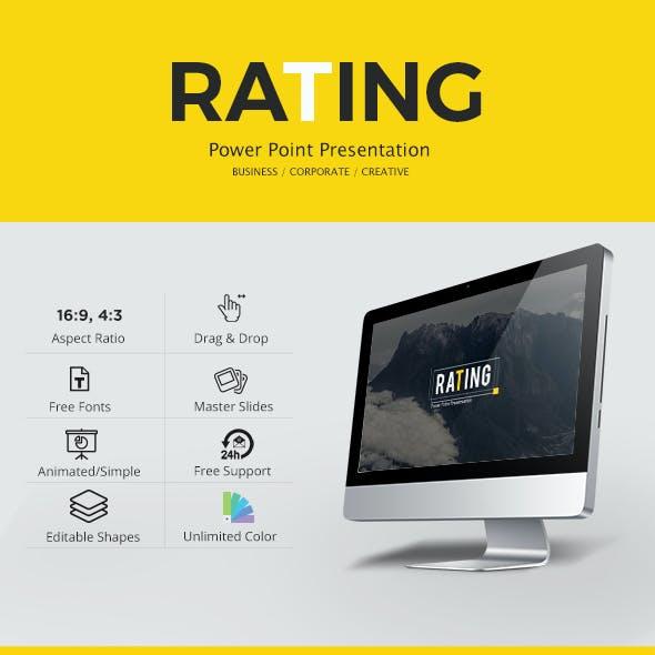 Rating Power Point Presentation