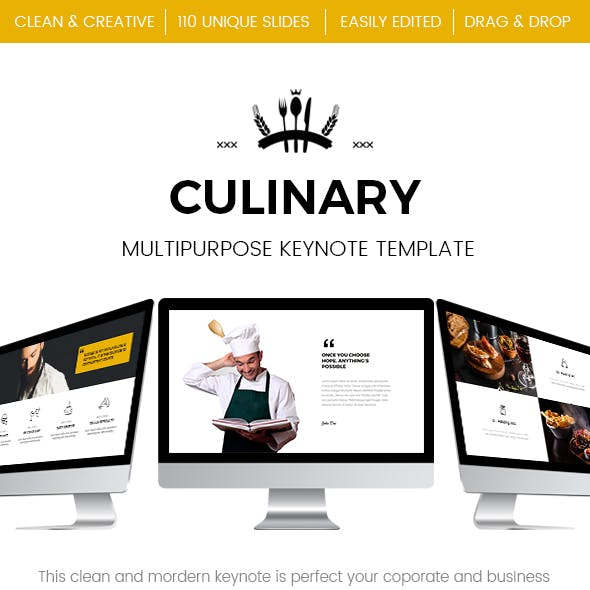 Food - Restaurant Keynote Template
