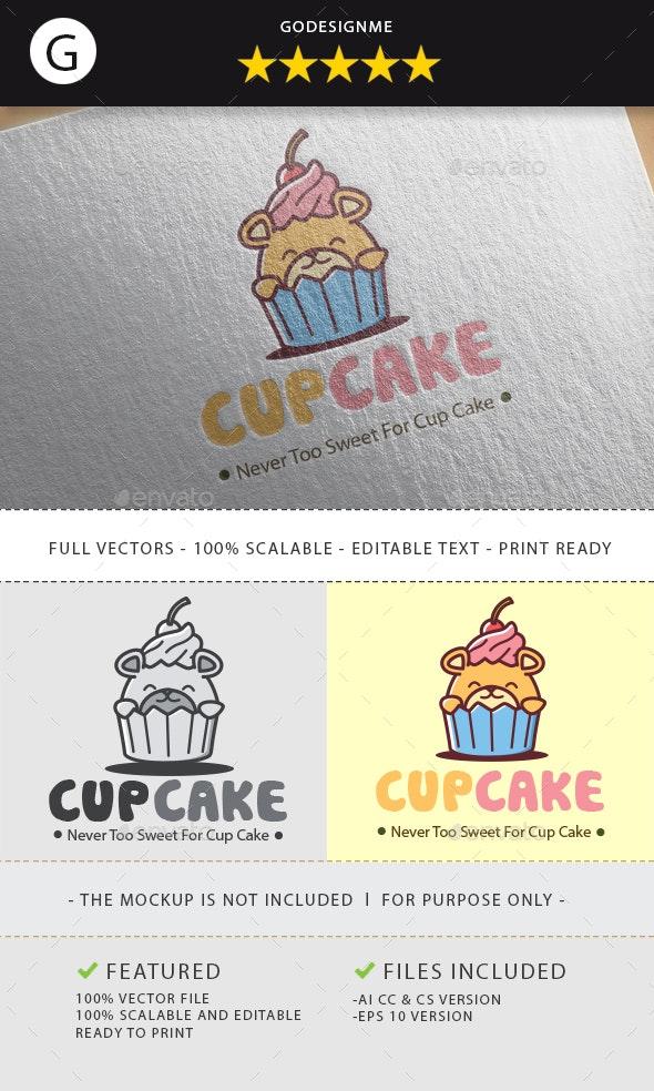 Fun Cake Logo - Animals Logo Templates
