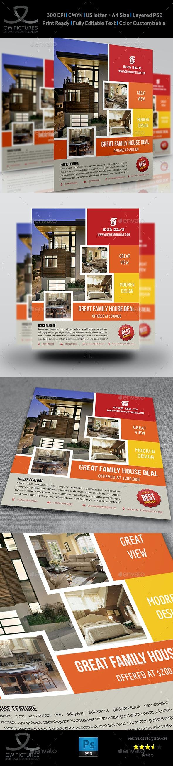 Real Estate Flyer Vol.5 - Commerce Flyers