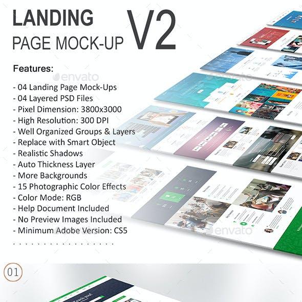 Landing Page Mock-Up 02
