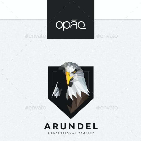 Triangulation Eagle Crest Logo