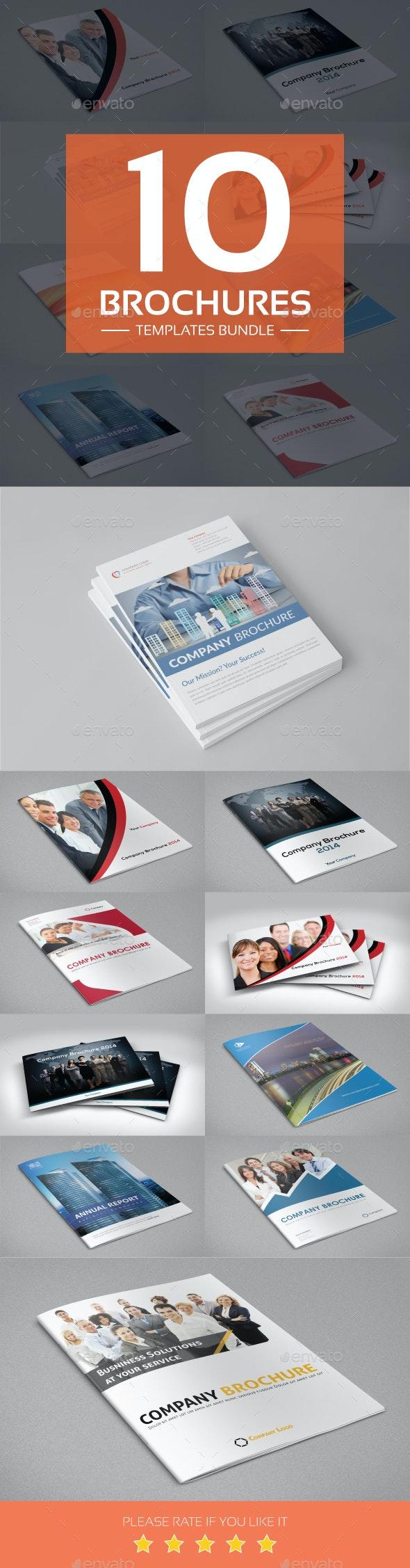 Brochures Templates Bundle - Corporate Brochures