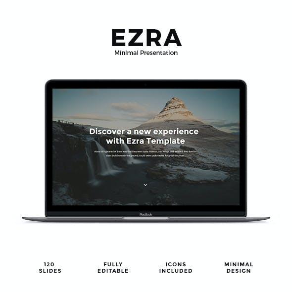 EZRA - Minimal Presentation