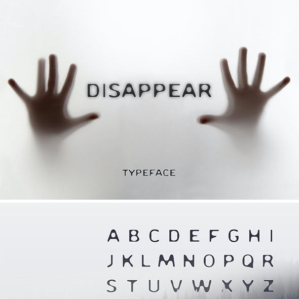Disappear Font