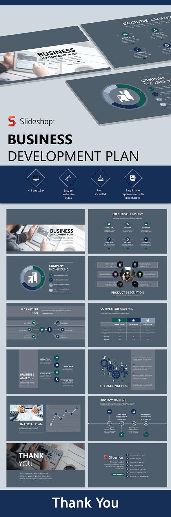 Business Development Plan - PowerPoint Templates Presentation Templates