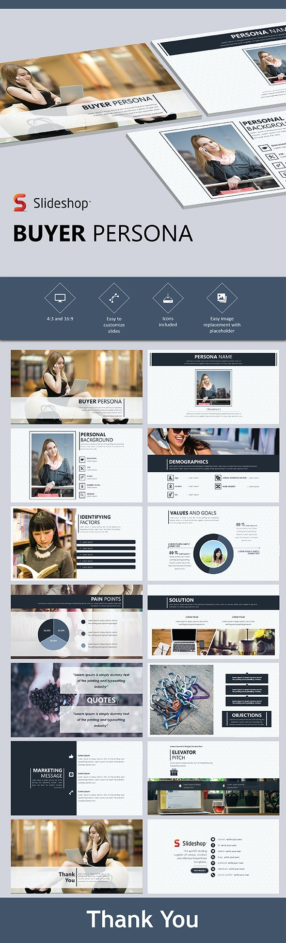 Buyer Persona - PowerPoint Templates Presentation Templates