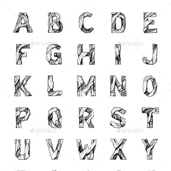 Rocky Alphabet