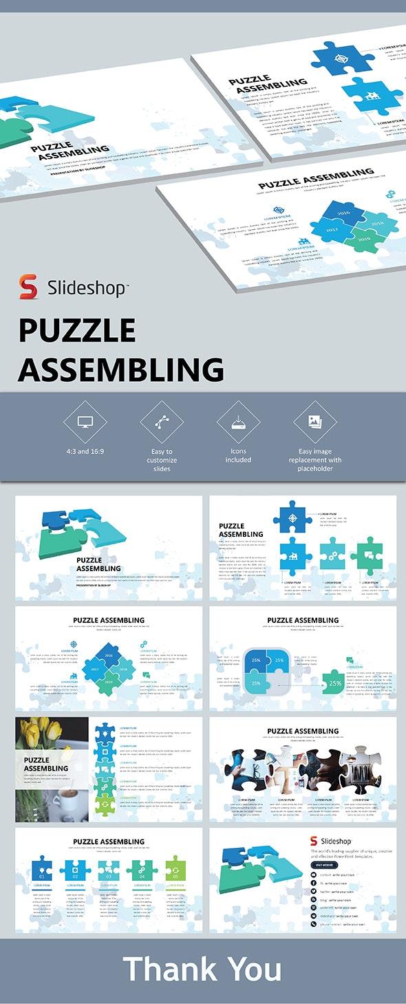 Puzzle Assembling - PowerPoint Templates Presentation Templates