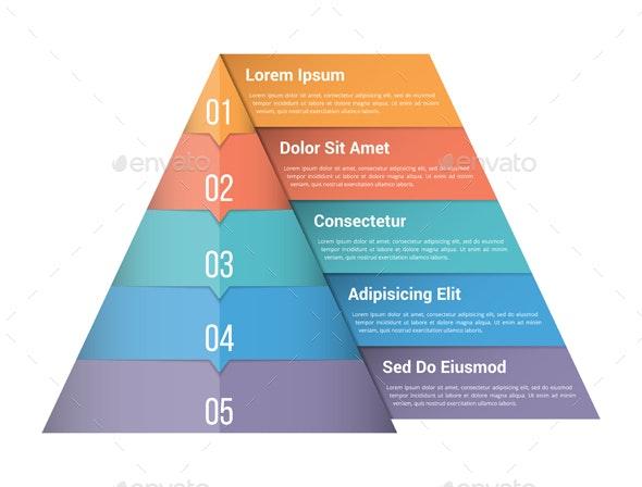 Pyramid Infographics - Infographics