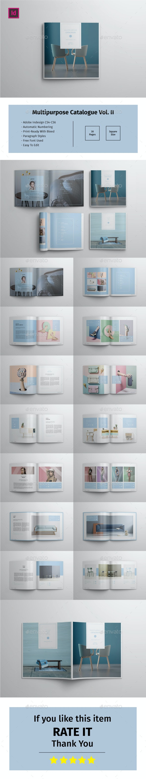 Multipurpose Square Catalogue Vol.II - Catalogs Brochures