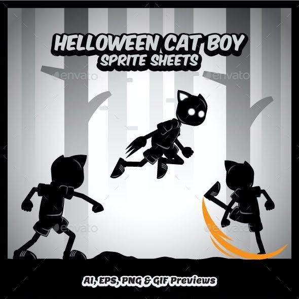 Helloween Cat Boy Sprites