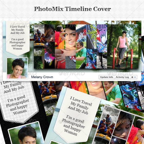 PhotoMix Facebook Timeline Cover