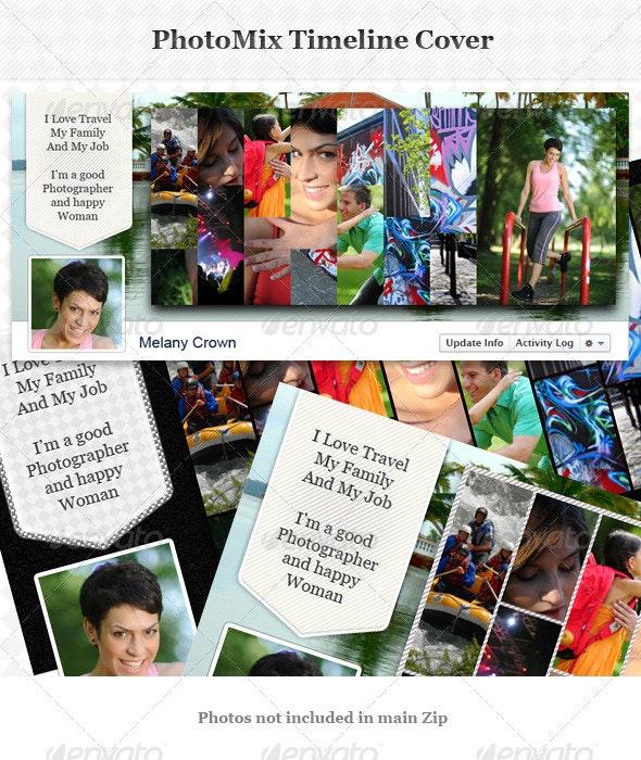 PhotoMix Facebook Timeline Cover - Facebook Timeline Covers Social Media