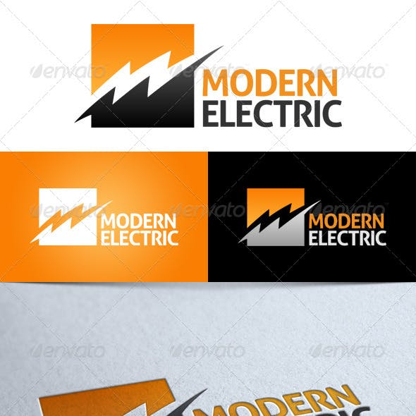 'Modern Electric' Logo