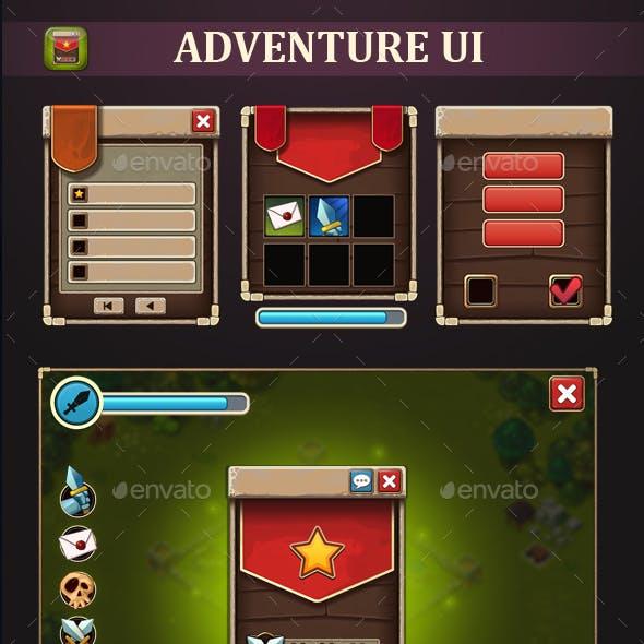 Adventure UI