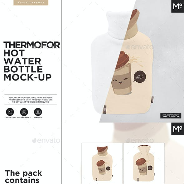 Thermofor Hot Water Bottle Mock-up