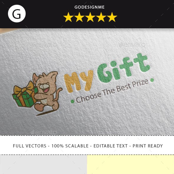 Delivery Gift Logo