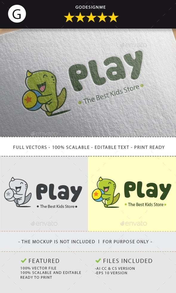 Kids Play Logo - Animals Logo Templates