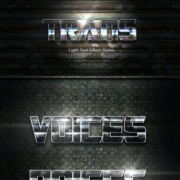 Trans Text Effect V34