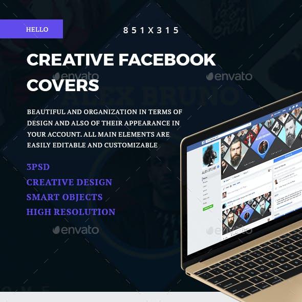 Creative Facebook Covers