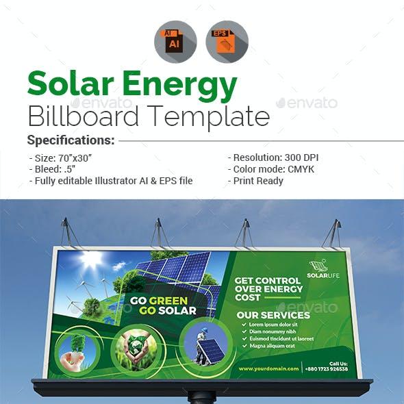 Solar Energy Billboard