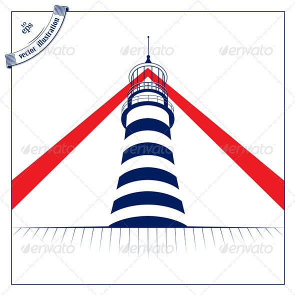Lighthouse Tower Icon