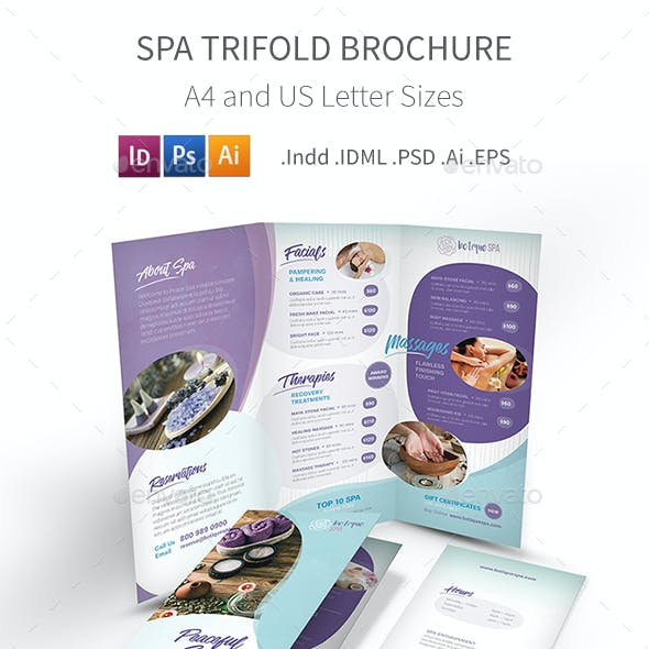 Spa Trifold Brochure 8