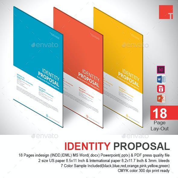 Identity Proposal Template