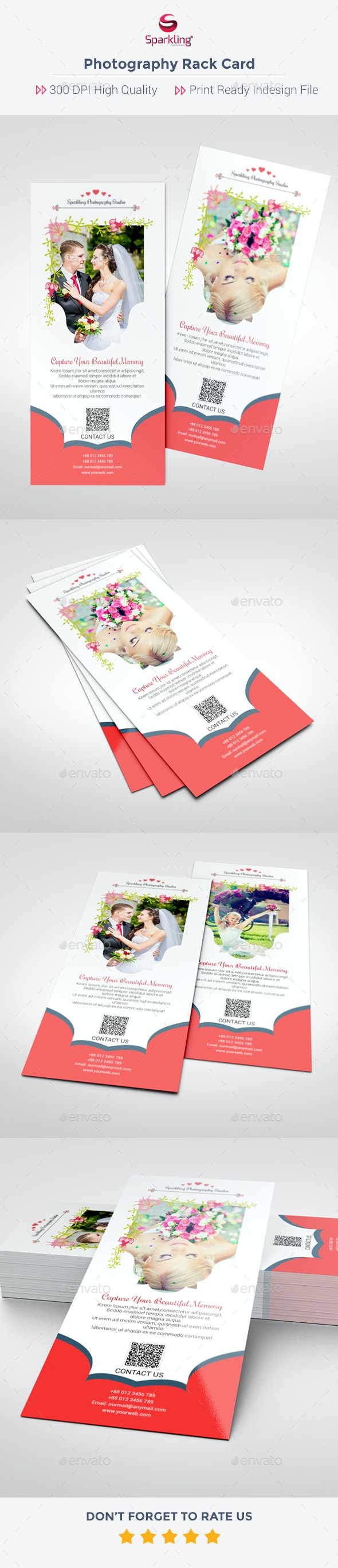 Photography Rack Card - Corporate Flyers