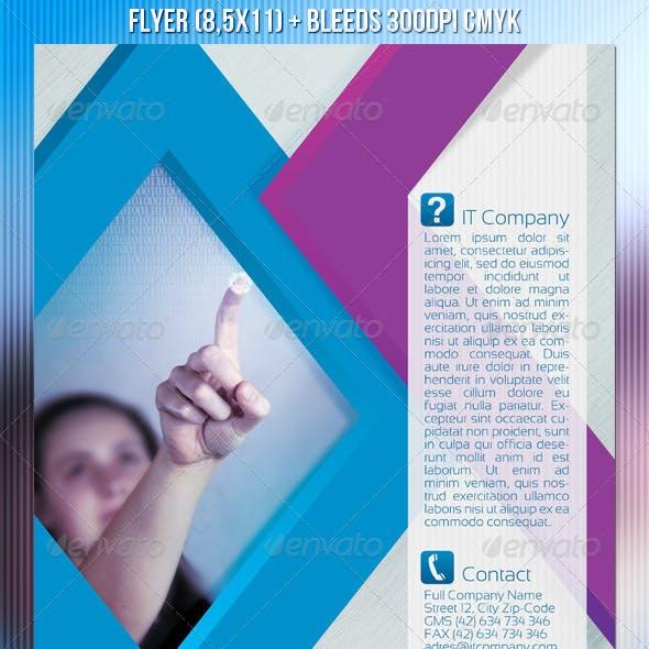 IT Company Flyer