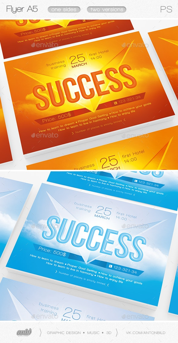 Success - Events Flyers