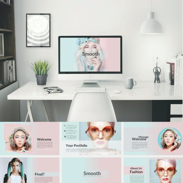 Smooth Powerpoint Template