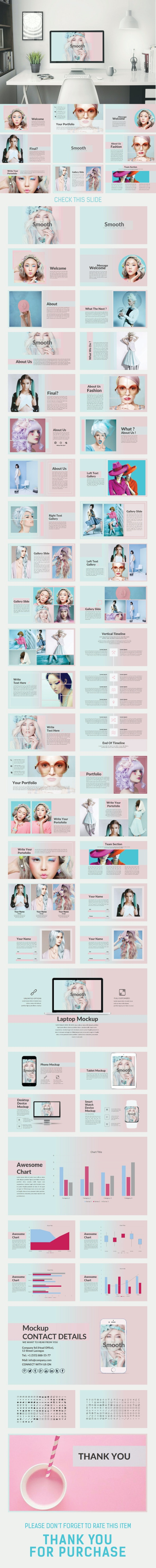 Smooth Powerpoint Template - Creative PowerPoint Templates