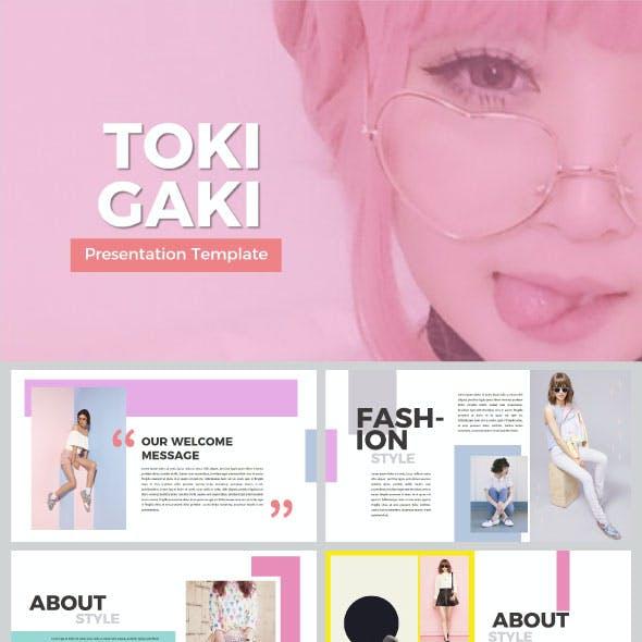Tokigaki Powerpoint Template