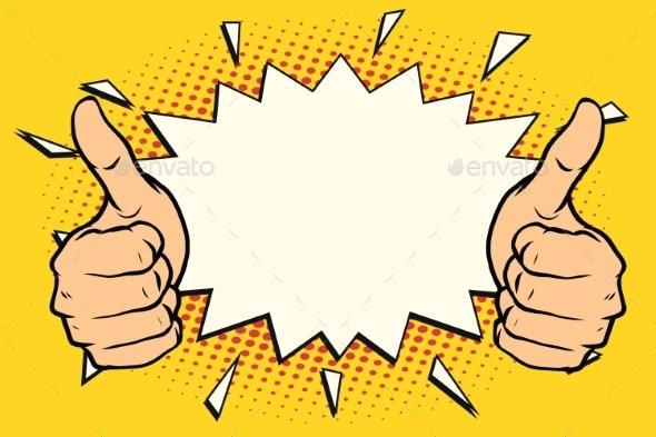 Thumb Up Like - Miscellaneous Vectors