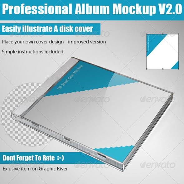Professional Album Mockup