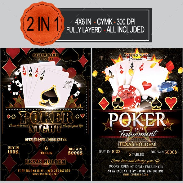 Poker Flyer Bundle