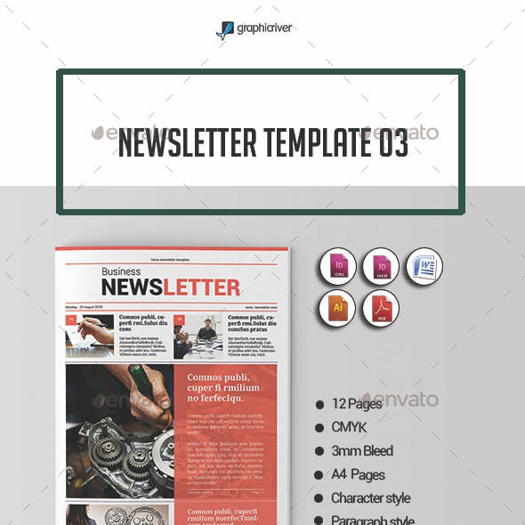 Newsletter Template 03