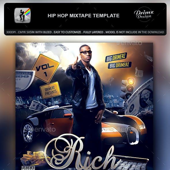 Hip Hop Mixtape Template