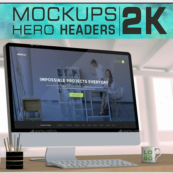 Imac Mockups Hero Headers 2k