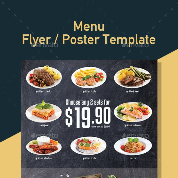 Restaurant Template for Promotion Poster / Flyer