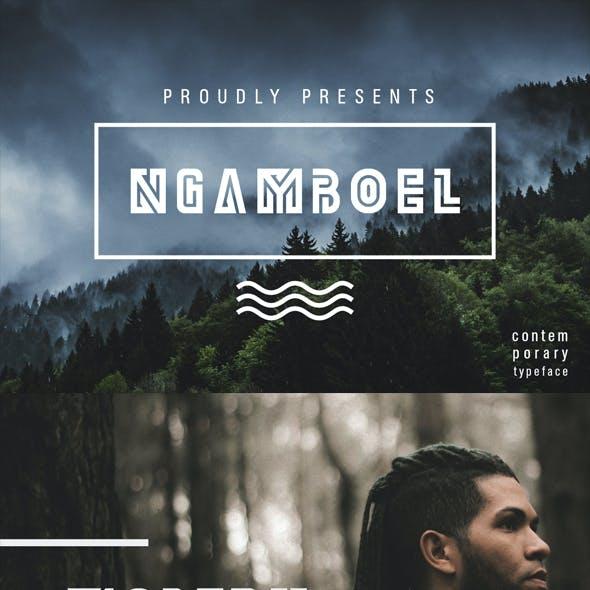 Ngamboel Typeface