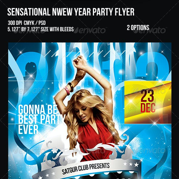2012 Sensational New Year Dance Music Party Night